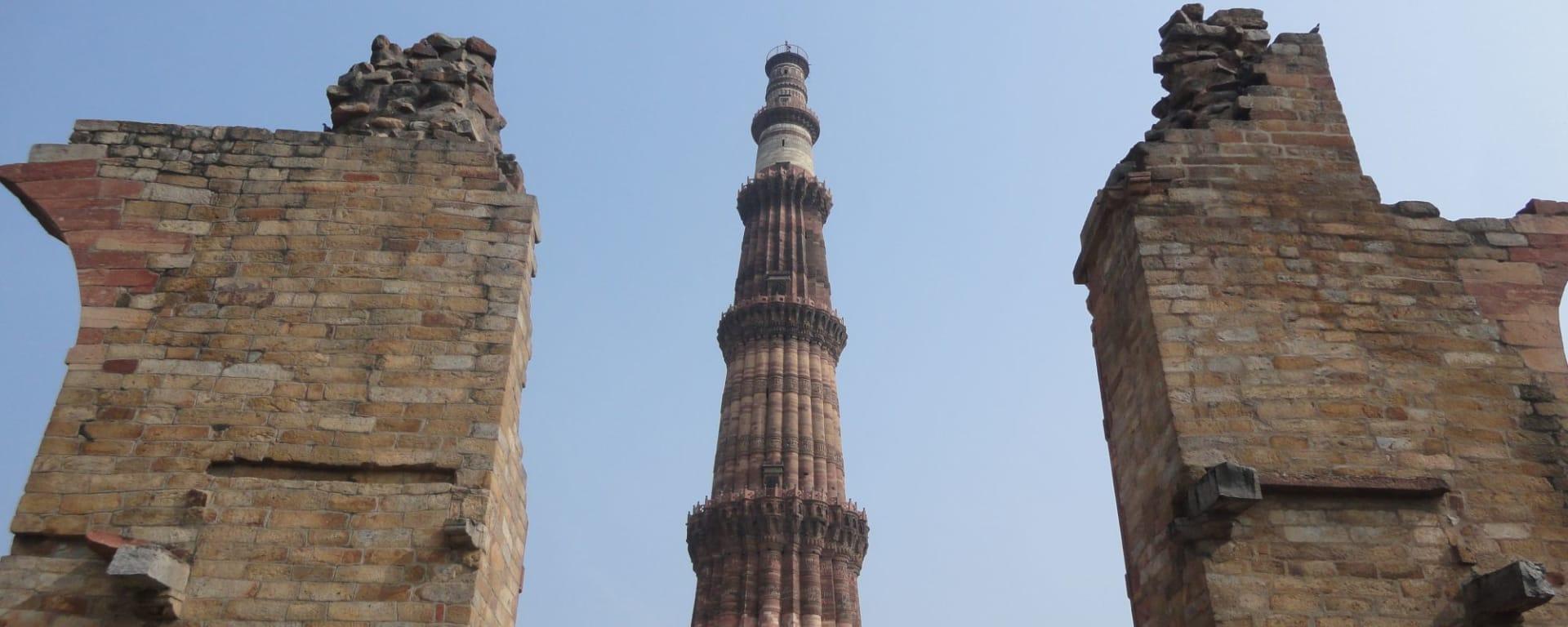 Neu-Delhi: Qutab Minar