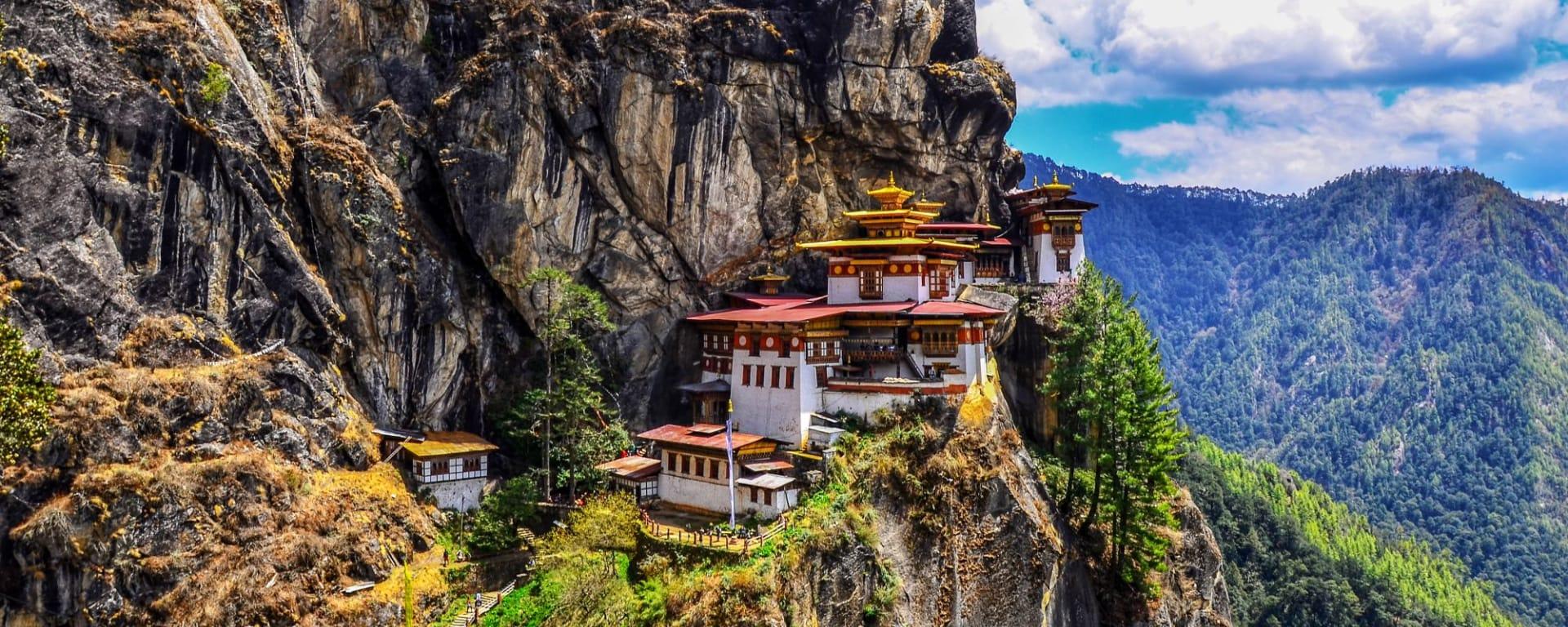 Wissenswertes zu Bhutan Reisen und Ferien: Paro Tiger Nest Monastery