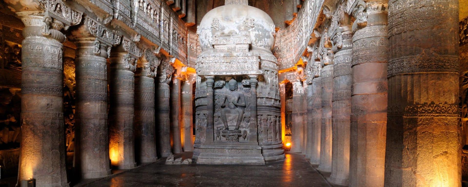 Héritages culturels Ellora & Ajanta de Aurangabad: Ajanta: Stupa