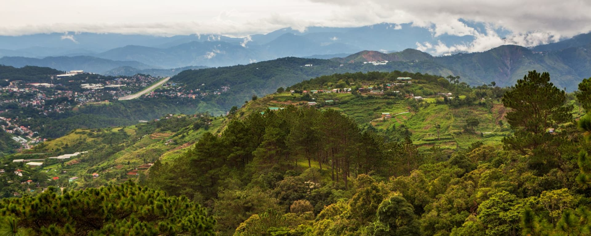 Nord-Luzon Rundreise ab Manila: Luzon Baguio City beautiful landscape