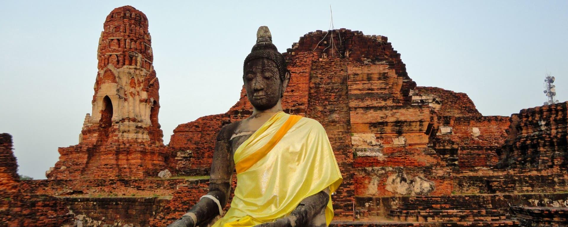 Voyage au Rocher d'Or  (traversée de Bangkok à Yangon): Ayutthaya