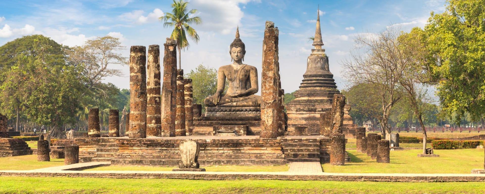 Thailand für Geniesser ab Bangkok: Sukhothai Historical Park