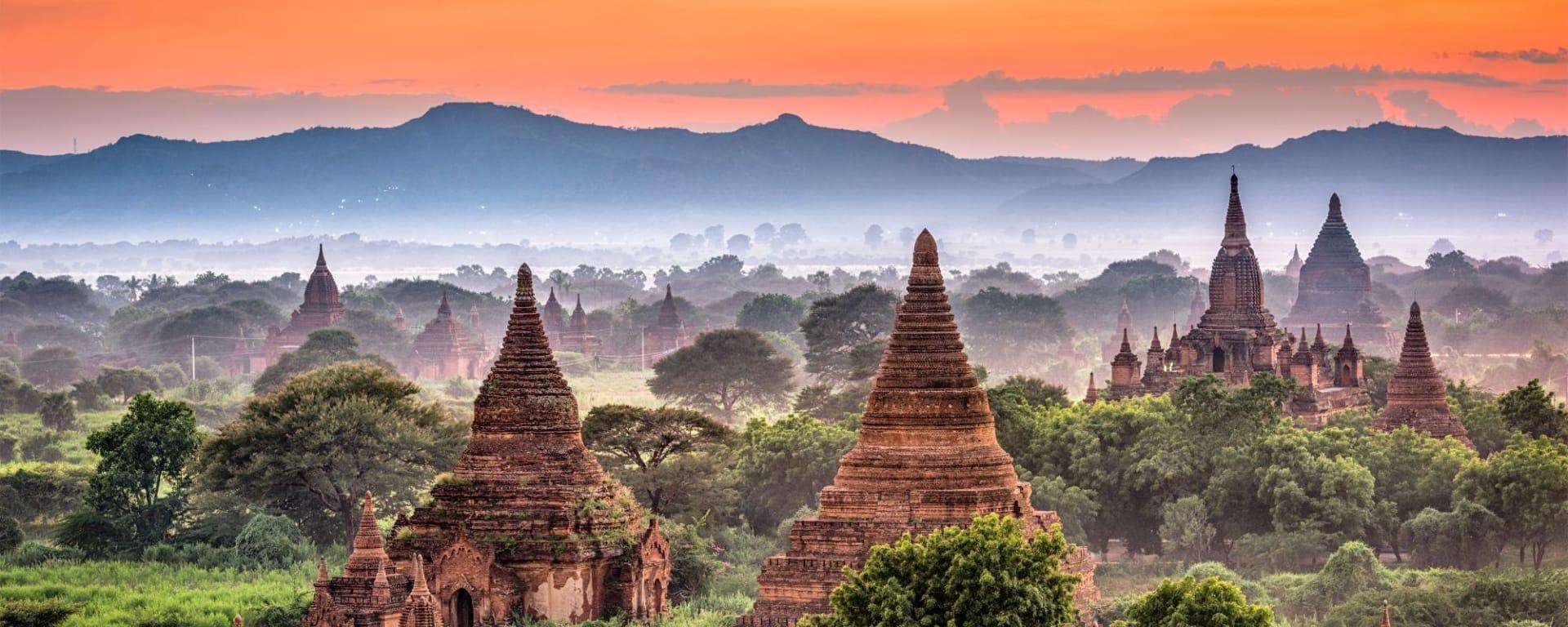 Le pays doré de Yangon: Bagan