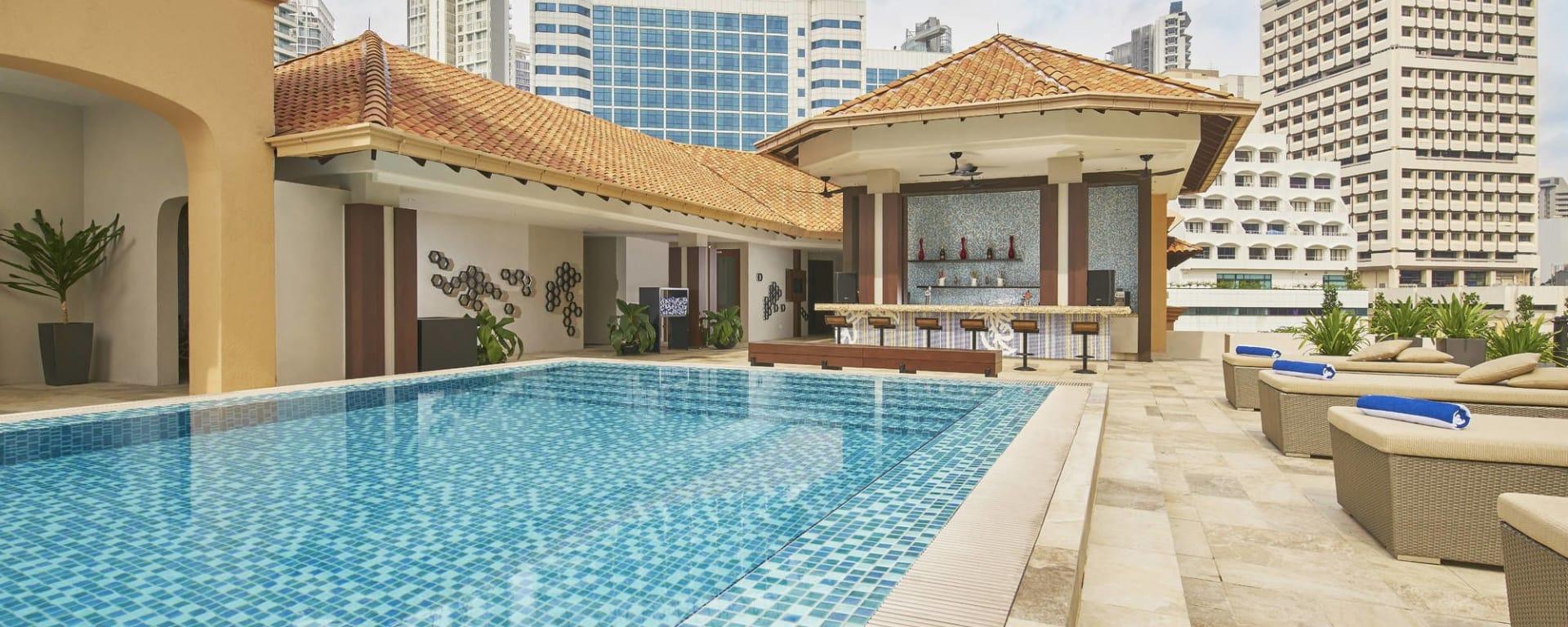 Orchard Rendezvous à Singapour: Pool Bar