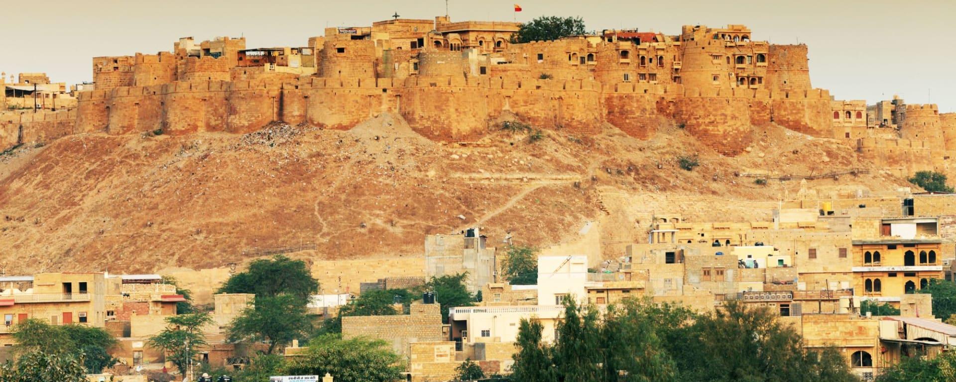 Höhepunkte Rajasthans ab Delhi: Jaisalmer: City in the desert