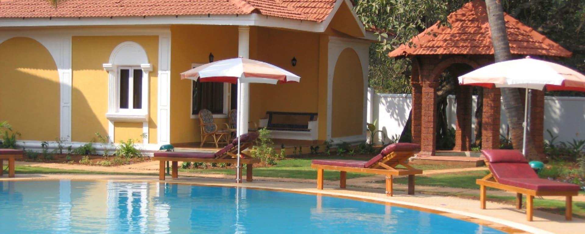 Casa de Goa: Main Pool