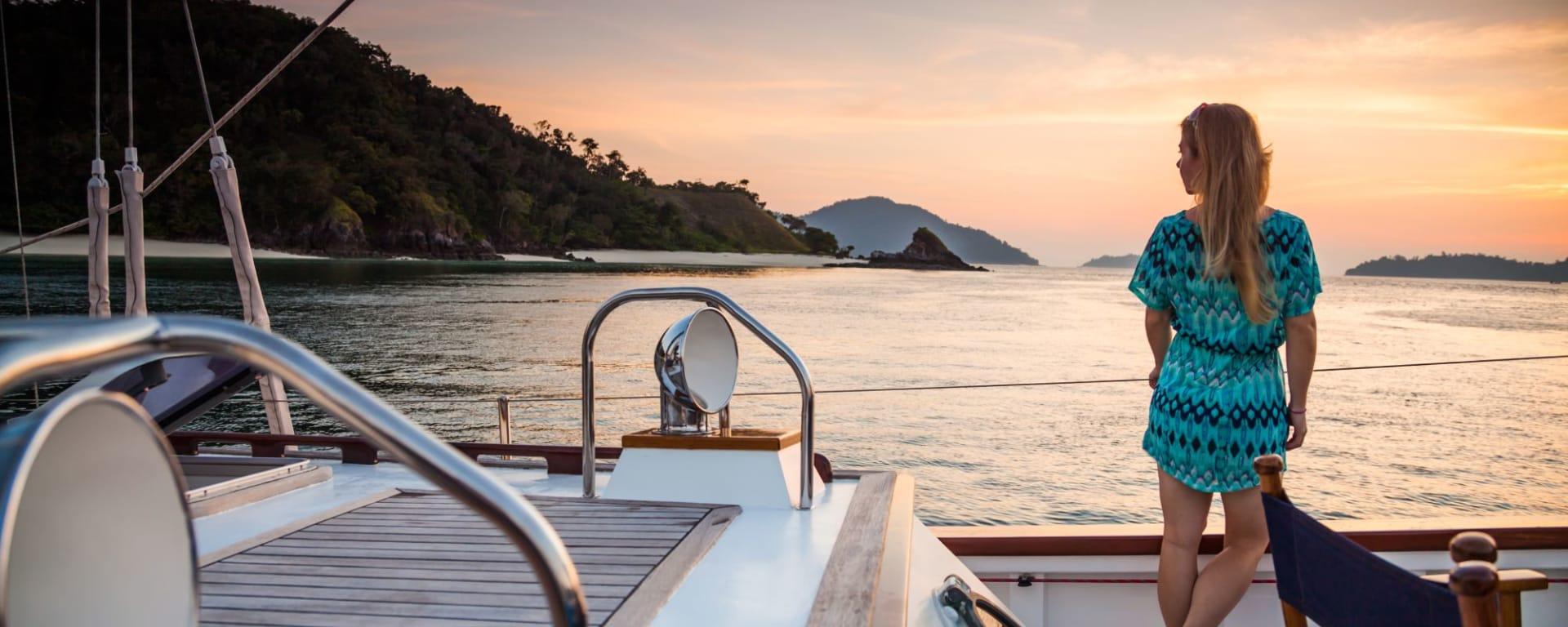 Croisière en voilier dans l'archipel paradisiaque des Mergui de Kawthaung: SY Meta IV at Mergui Archipelago 003