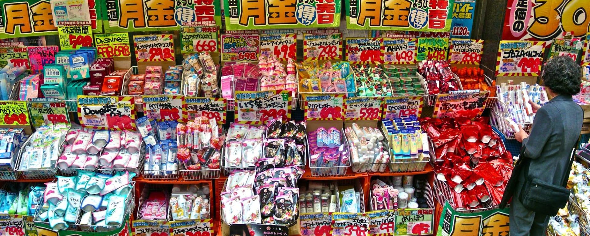 Tokyo de son propre chef, avec véhicule, demi jour: Junk shop