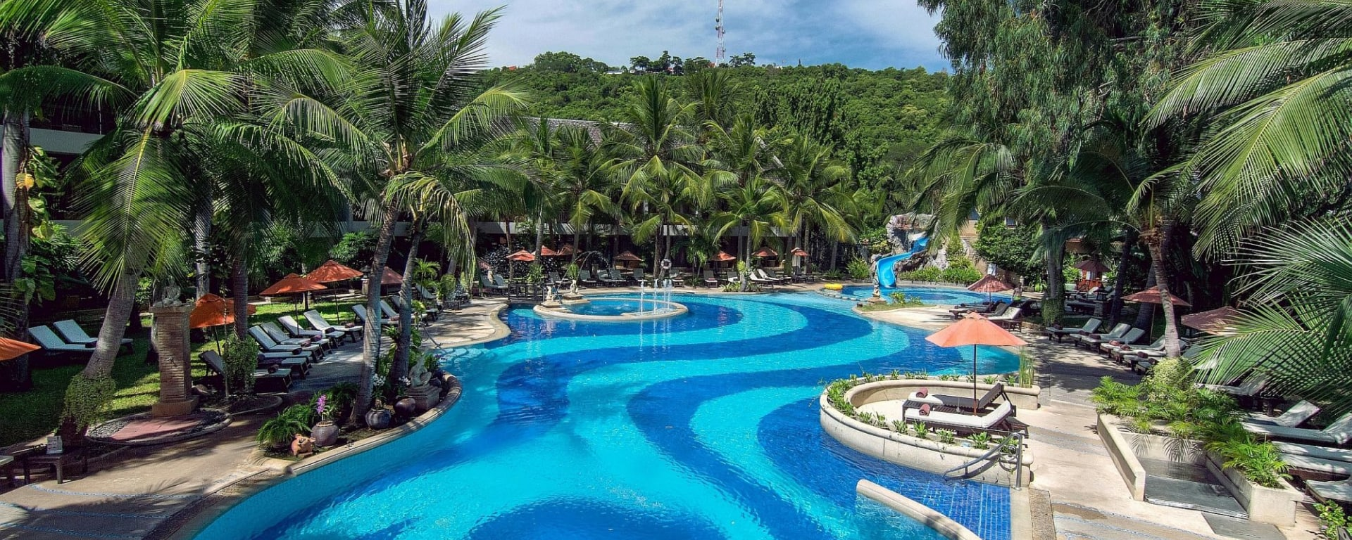 Siam Bayshore in Pattaya: Garden Pool
