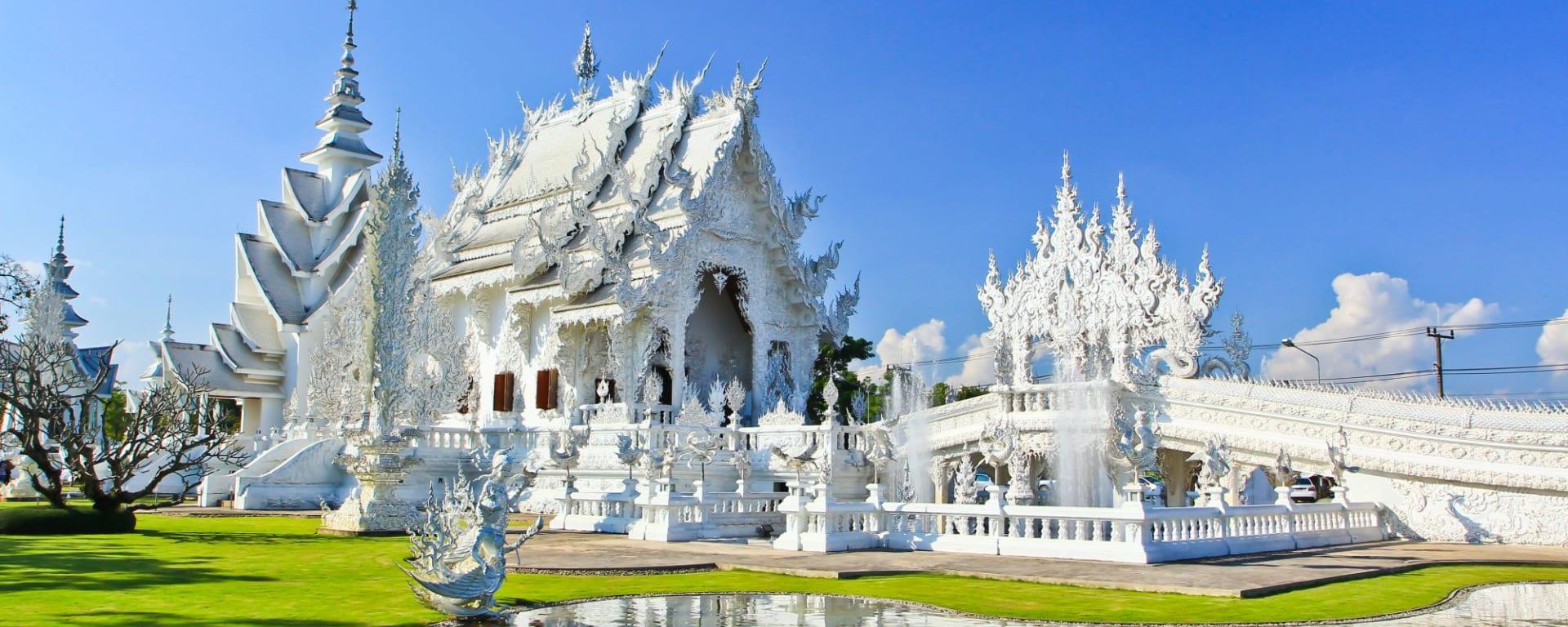 Thaïlande compacte de Bangkok: Chiang Rai Wat Rong Khun