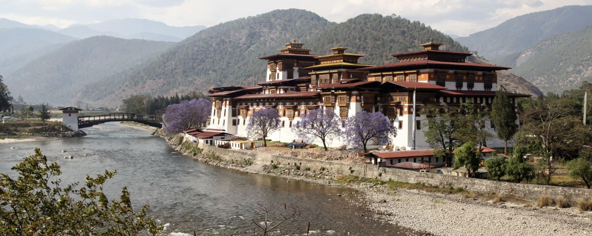 Bhutan - Land und Legenden ab Paro: Punakha Dzong