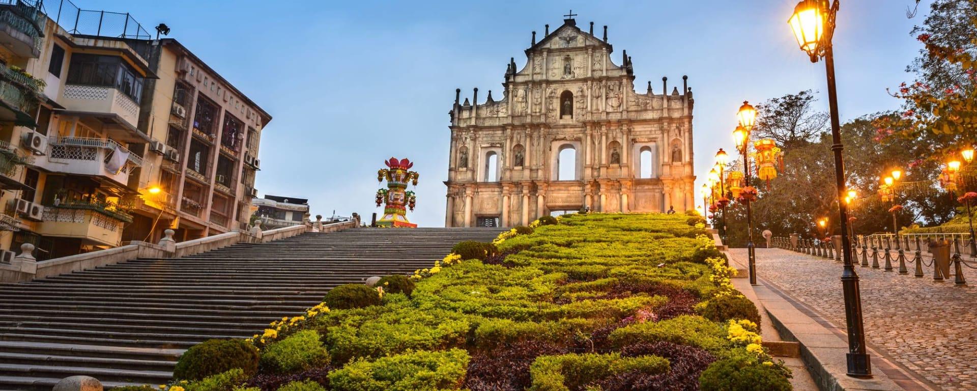 Wissenswertes zu Macau Reisen und Ferien: Ruins of St. Paul's