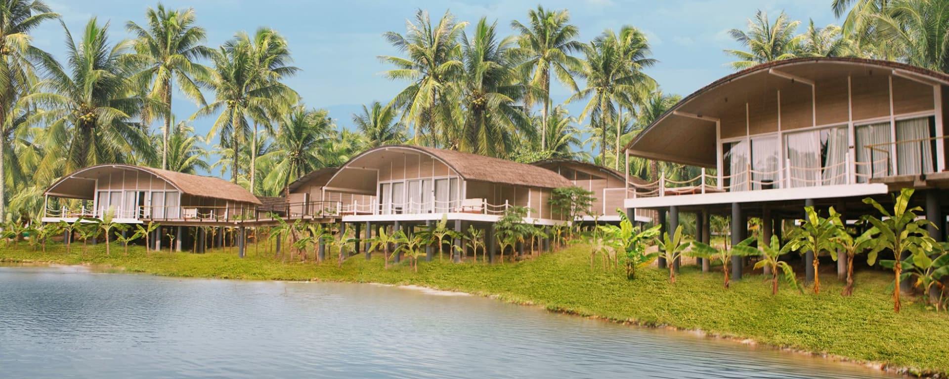 Taj Exotica Resort & Spa in Andamanen: Taj-Exotica Resort   from outside
