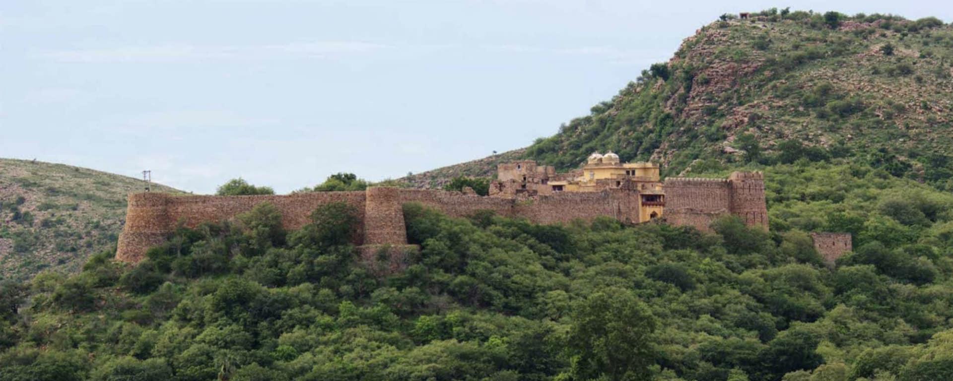 La féerie du Rajasthan de Delhi: Karauli: Ramathra Fort