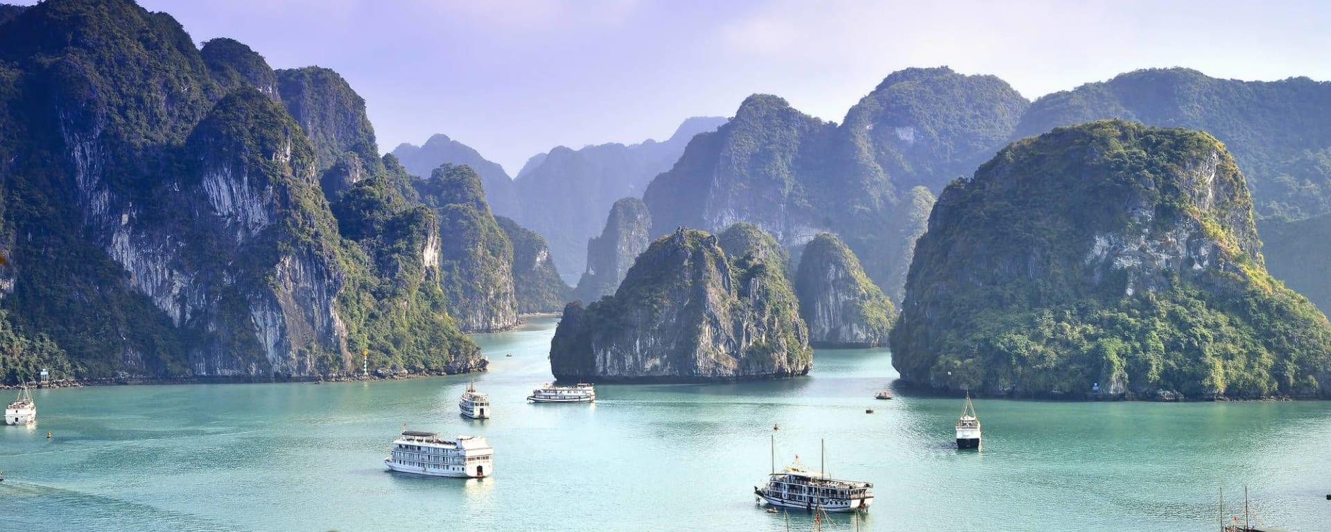 Vietnam Erlebnisreise - Von Hanoi zum Mekong Delta: Halong Bay