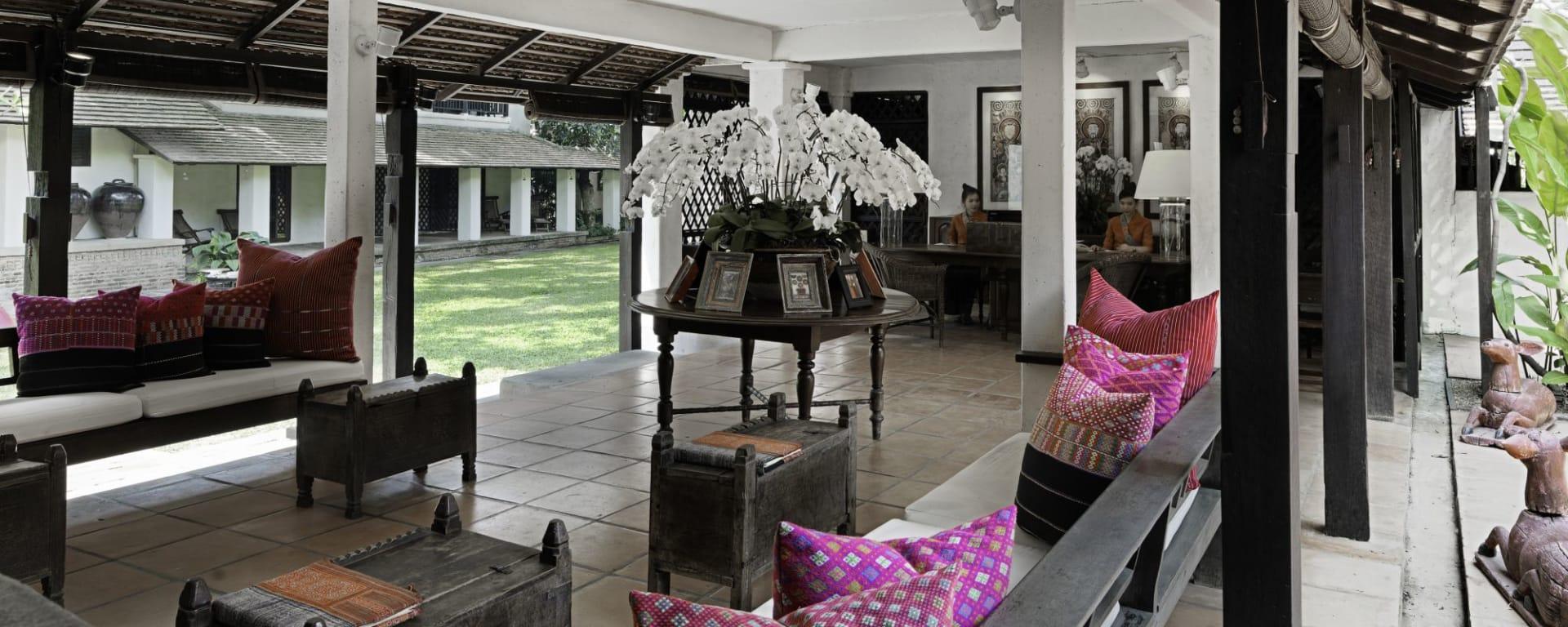 Tamarind Village in Chiang Mai: Hotel Lobby