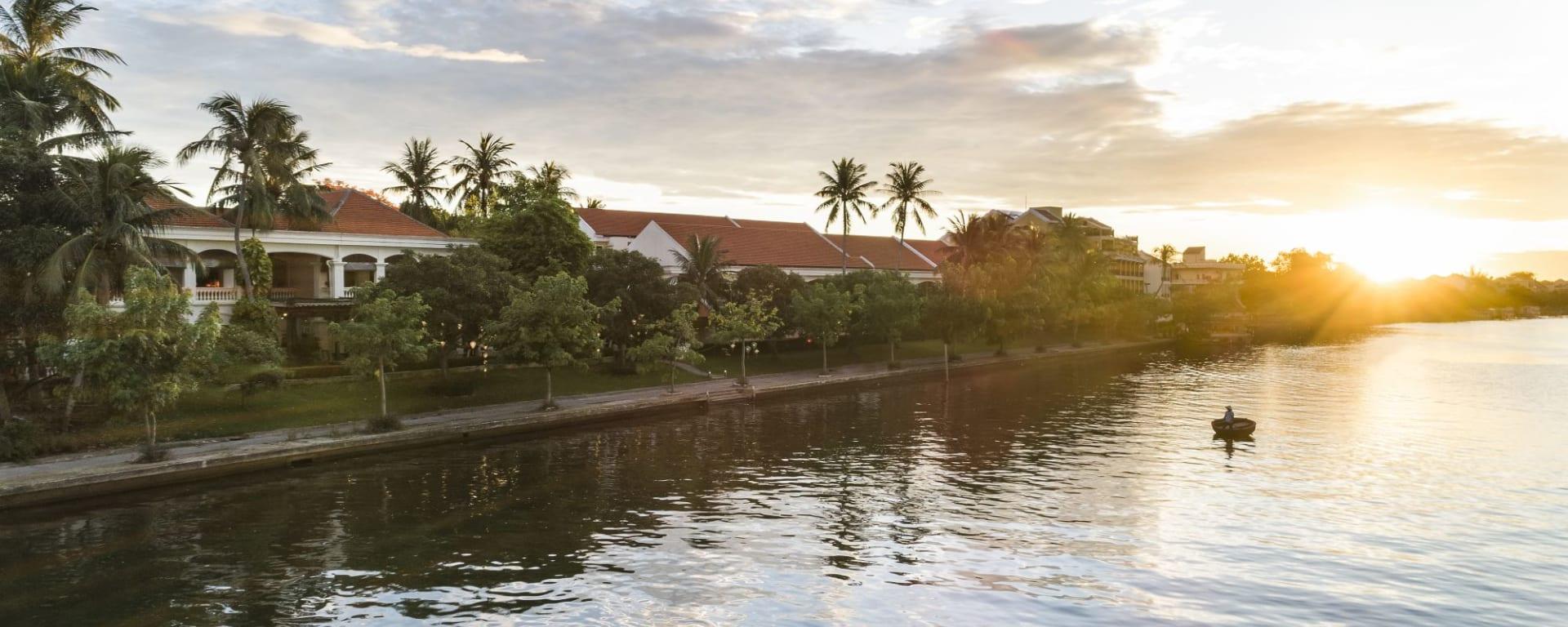 Anantara Hoi An Resort: Anantara Hoi An view from Thu Bon River