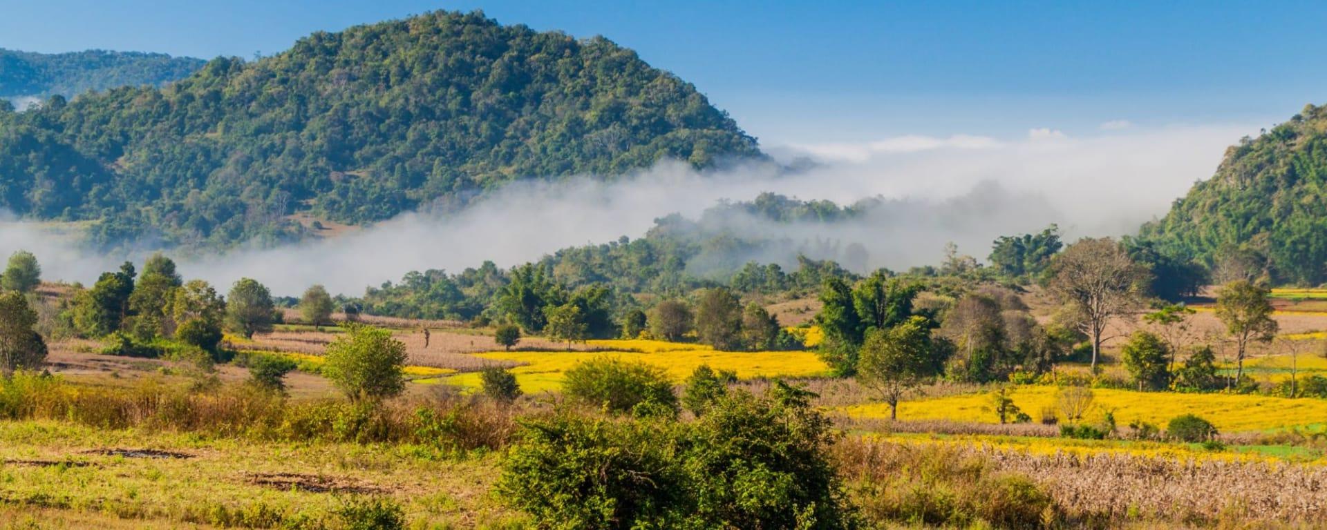 Randonnées dans le pittoresque Etat Shan (3 jours) de Lac Inle: Kalaw Rural landscape