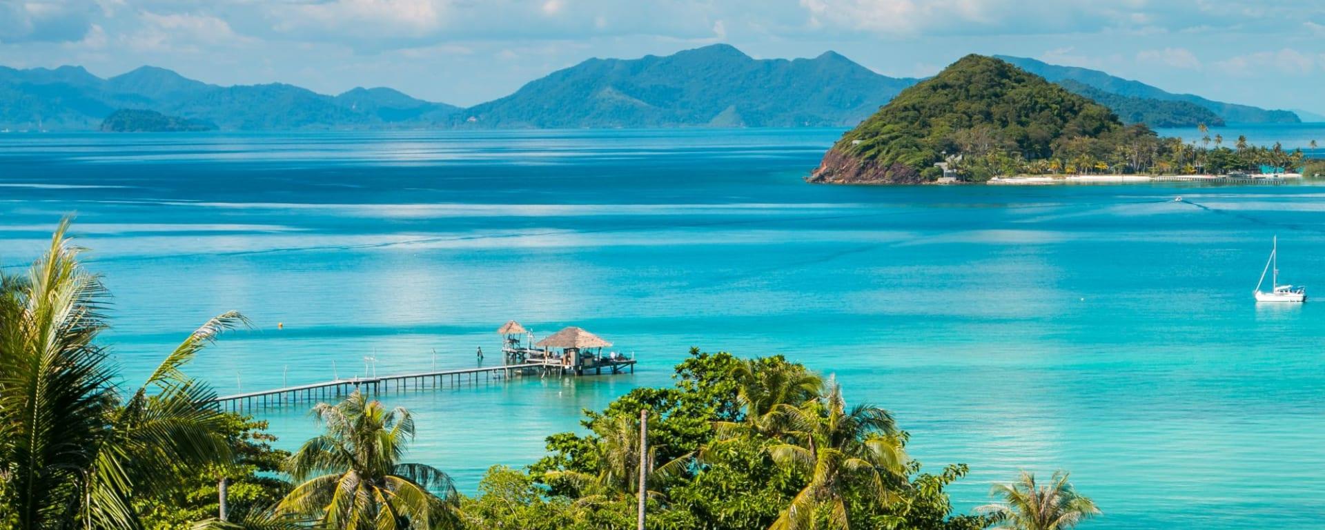 D'île en île dans le golfe de Thaïlande en individuel de Ko Chang: Ko Mak Island Viewpoint