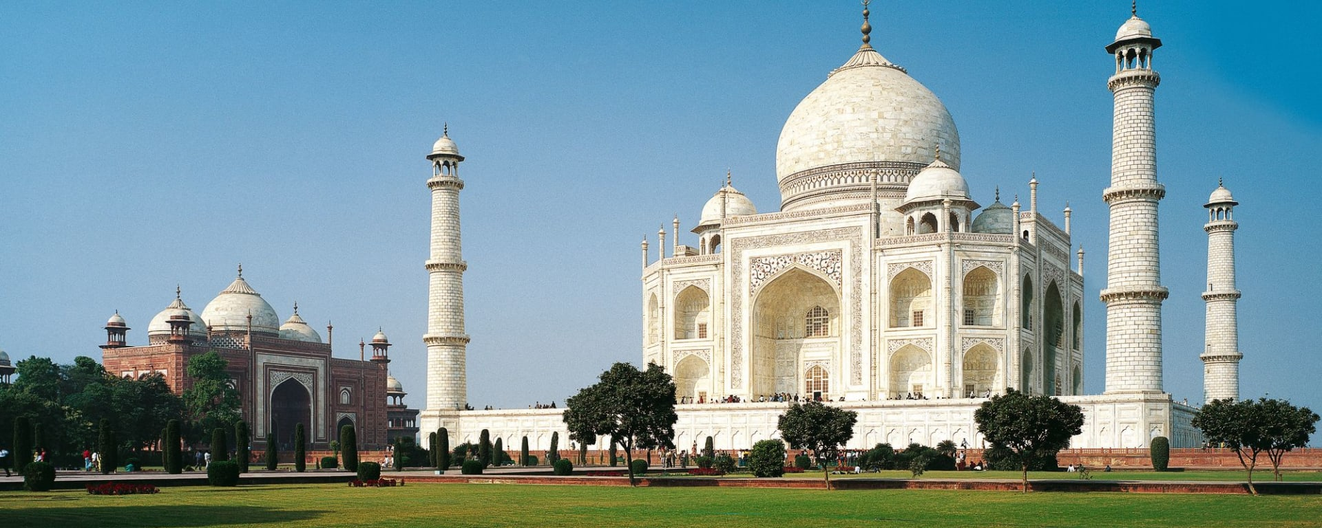 «The Deccan Odyssey» - Im Land der Könige ab Delhi: Agra Taj Mahal