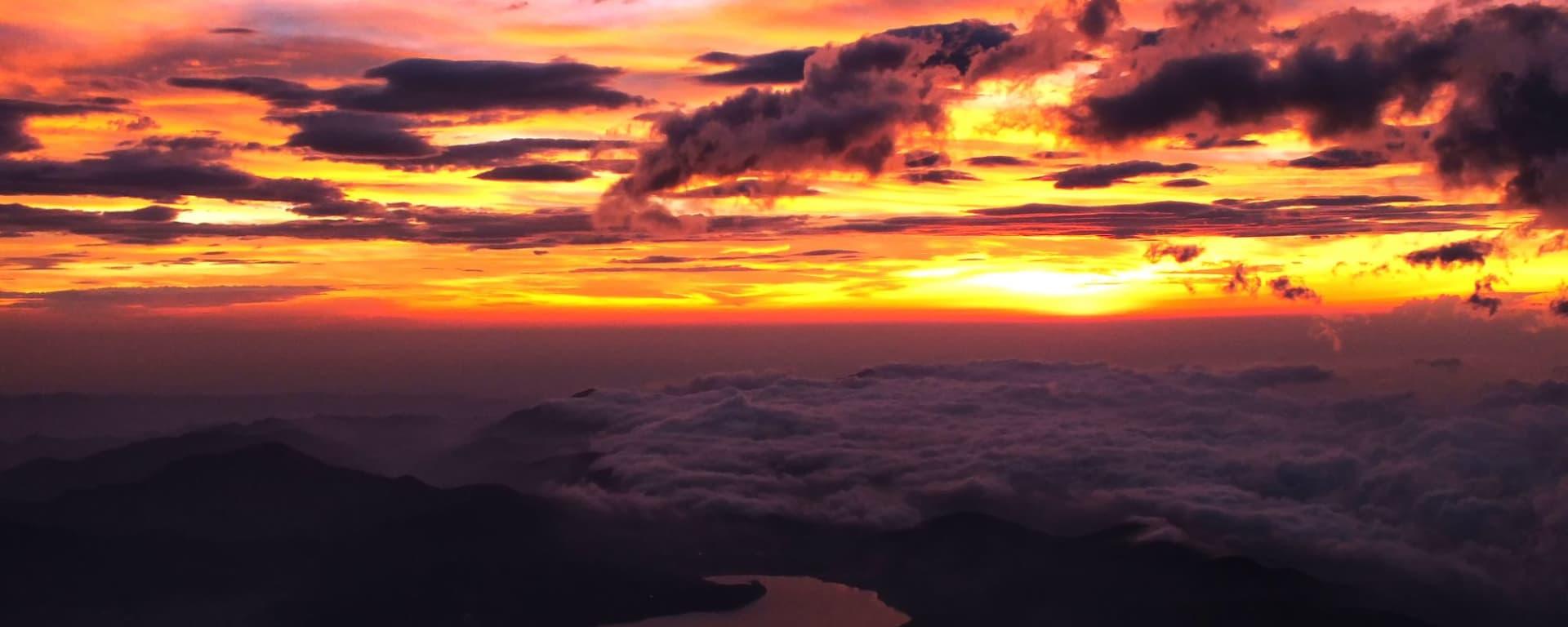 Circuit en groupe «Découverte active du Japon» de Tokyo: Trekking Mt. Fuji