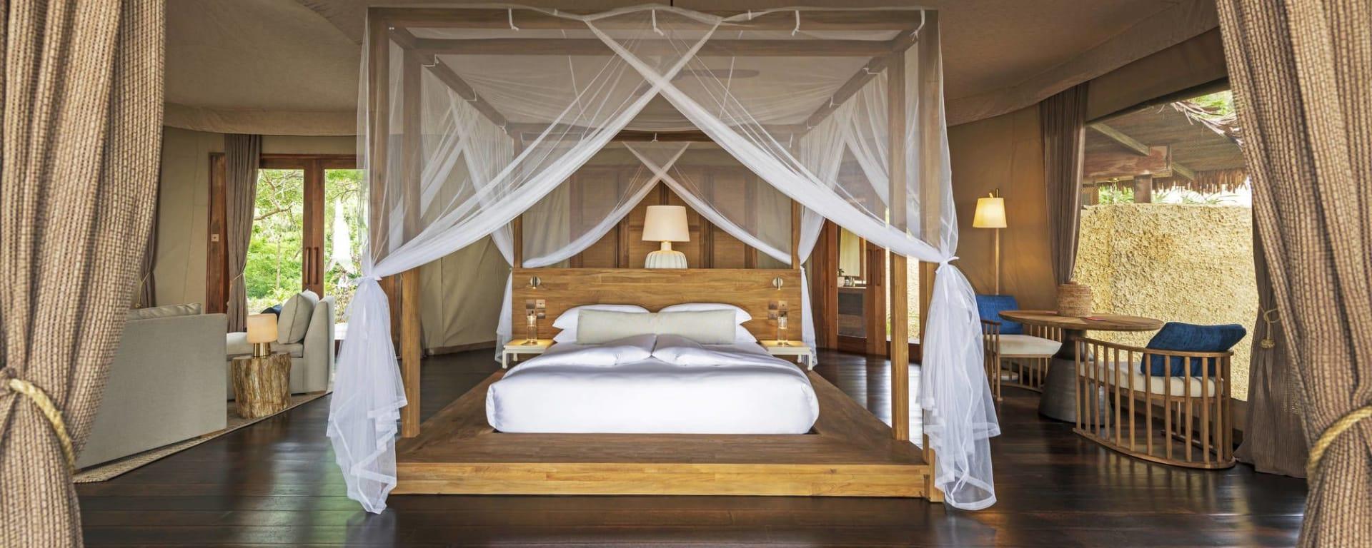 Wa Ale in Mergui Archipel: Tented Beach Villa