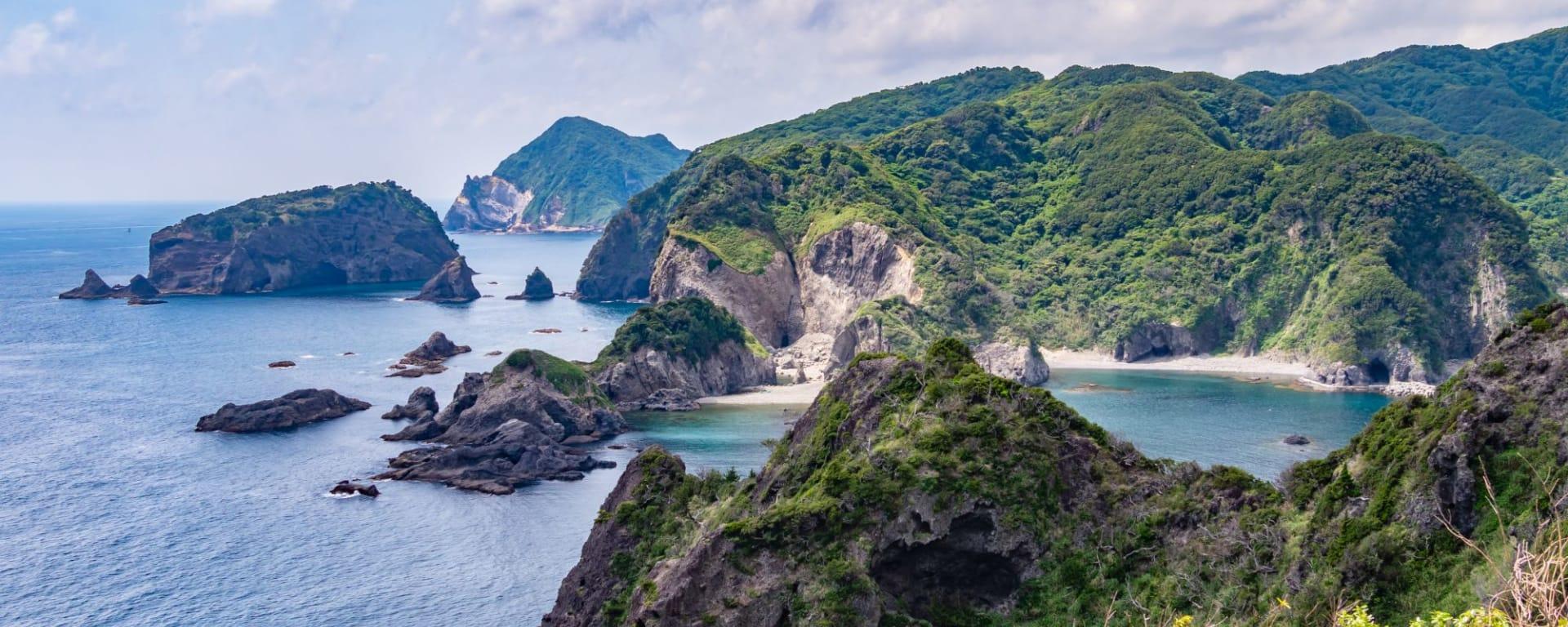 Izu Peninsula Mietwagenrundreise ab Tokio: Izu Island Aiai Misaki Cape