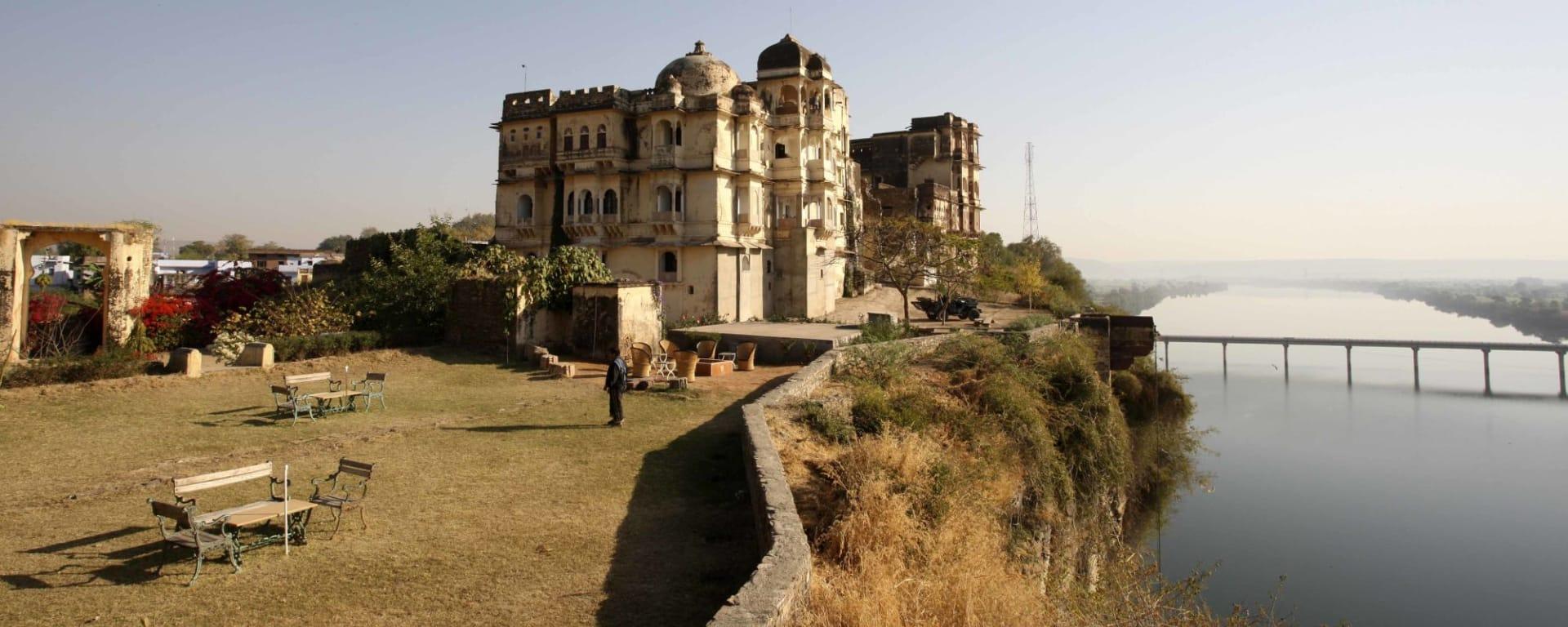 La féerie du Rajasthan de Delhi: Bhainsrorgarh Fort Hotel