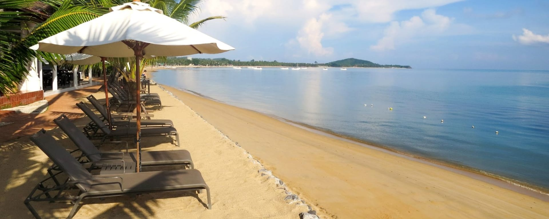 Paradise Beach Resort in Ko Samui: Beachfront