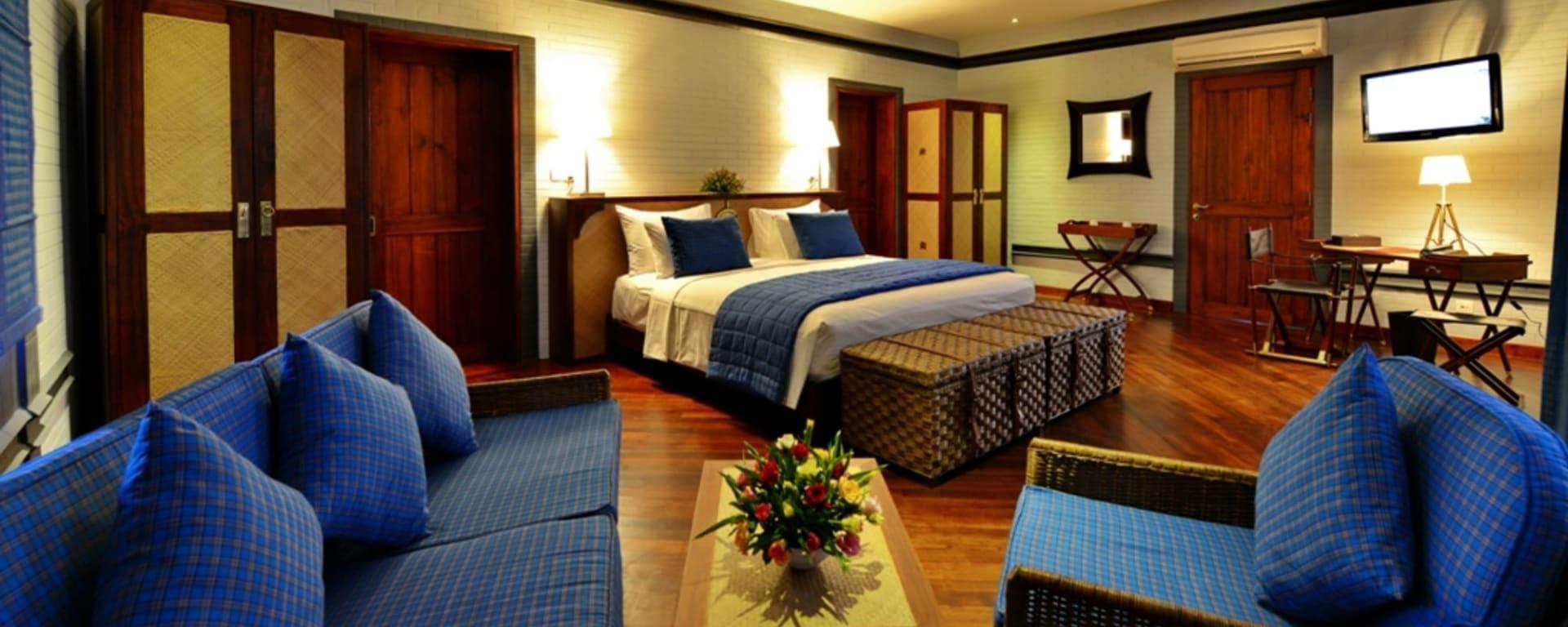 Bagan Lodge: Villa Room | King bed