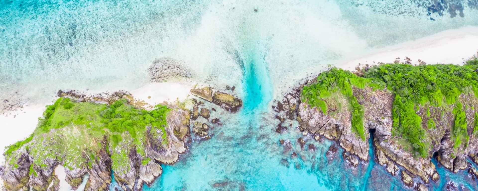 Croisière en voilier dans l'archipel paradisiaque des Mergui de Kawthaung: Mergui Archipel Cockburn Island