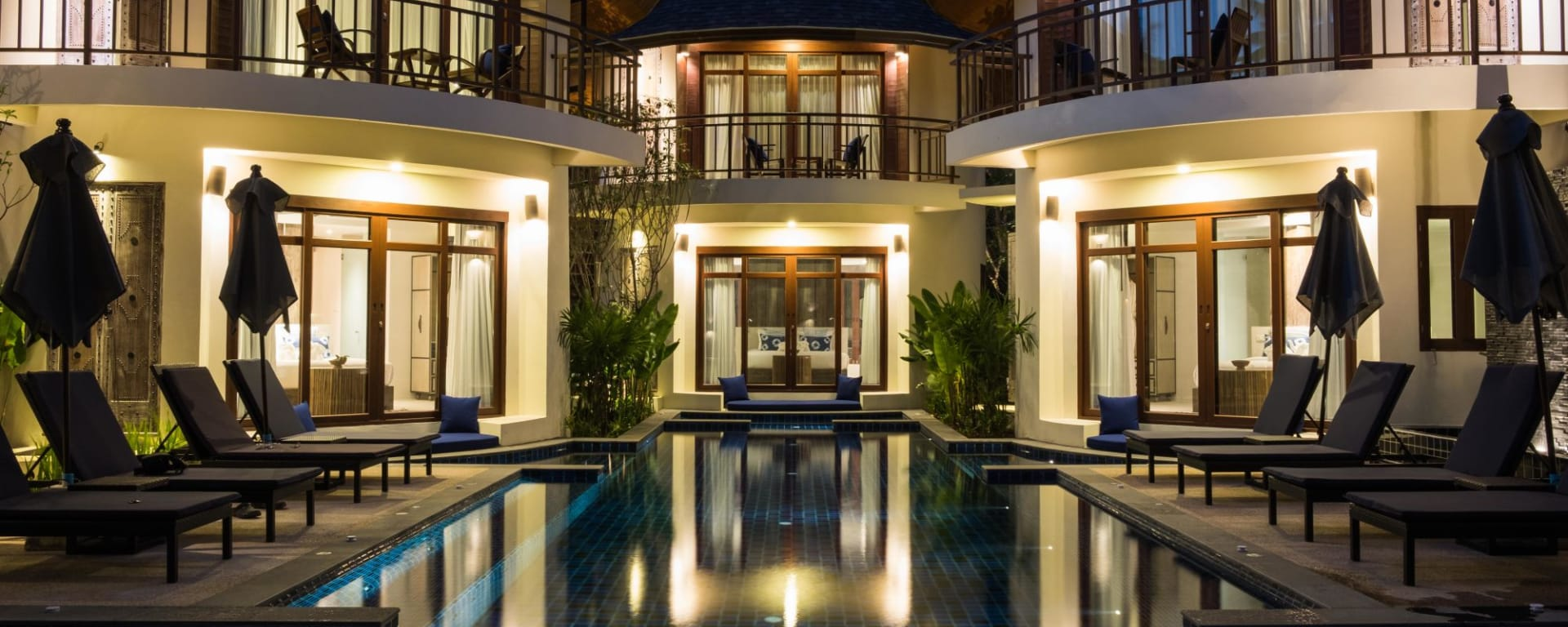 Bangsak Village in Khao Lak: Ravenala Pool Access
