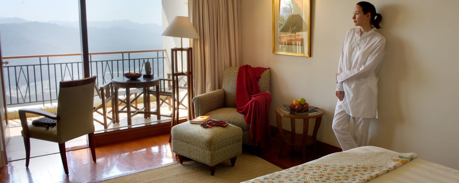 Ananda In The Himalayas in Rishikesh: Valley View Room & Balcony