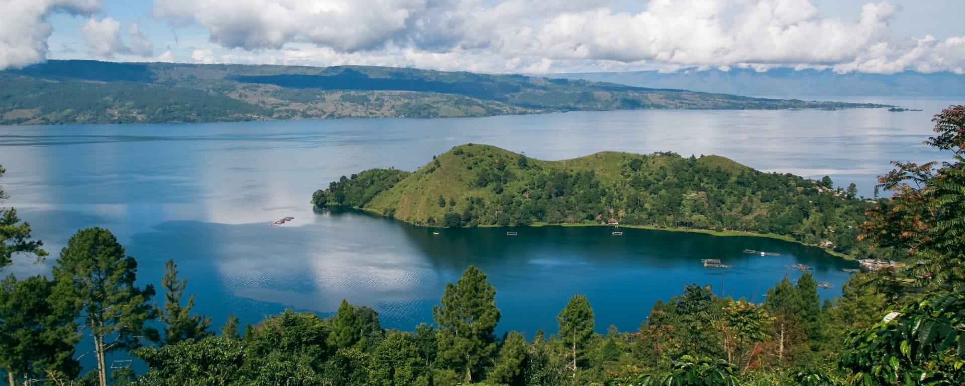 Grand circuit de Sumatra de Medan: Sumatra Lake Toba