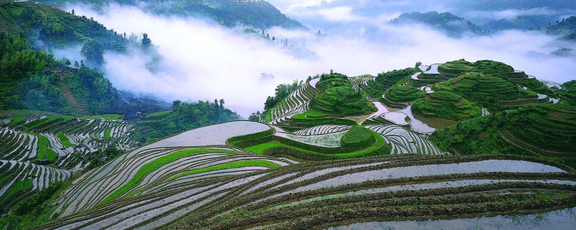 Märchenhaftes Südchina ab Shanghai: Longsheng: Terrace