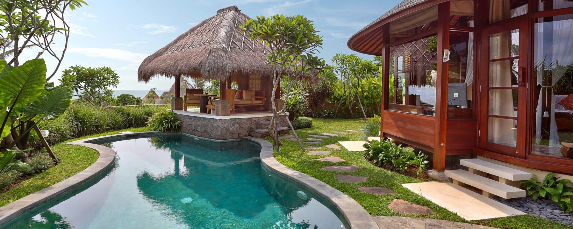 WakaGangga in Südbali: Pool Villa Oceanview