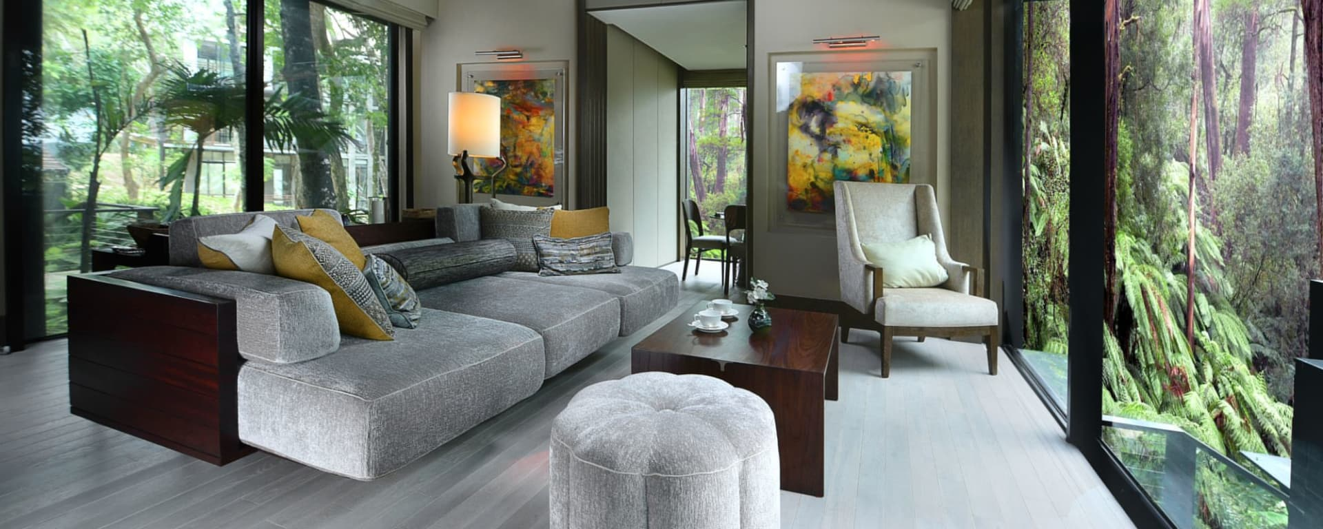 The Ritz-Carlton, Langkawi: Rainforest Villa | Living Room