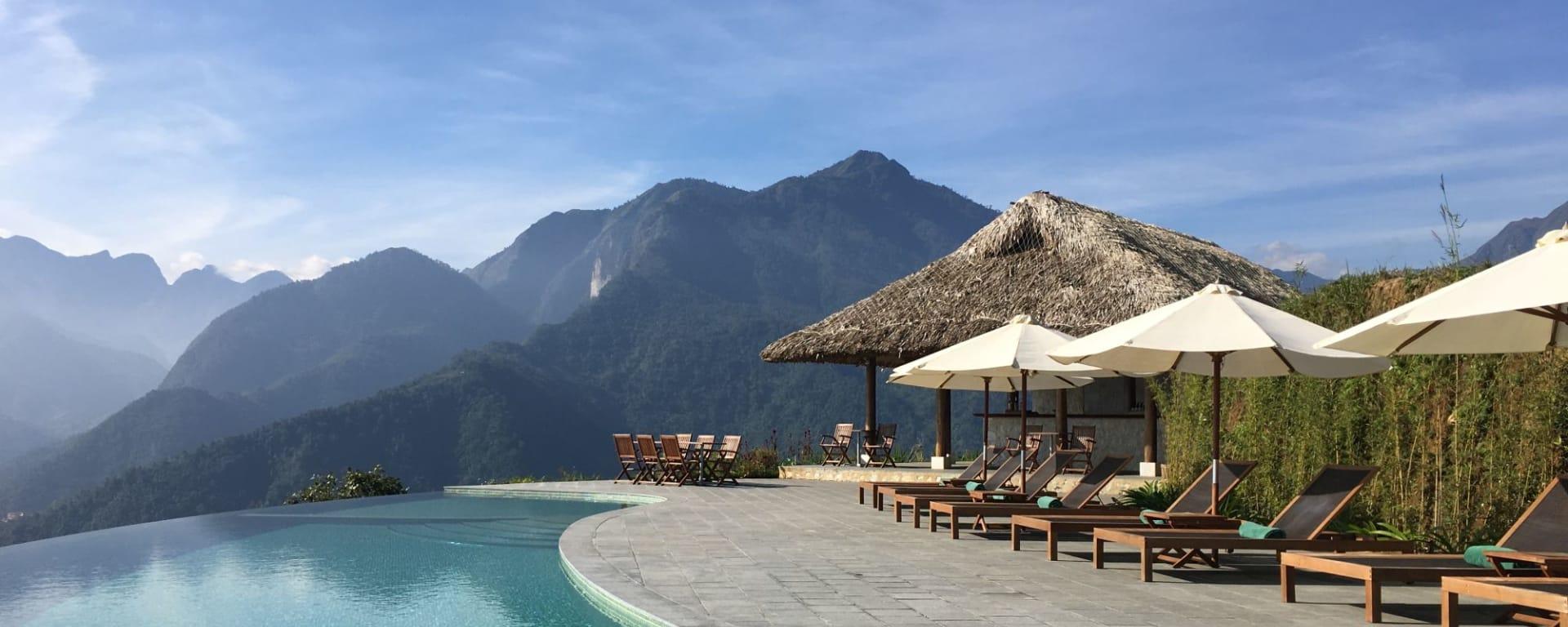 Abenteuer Sapa - Relax Package ab Hanoi: Topas Ecolodge
