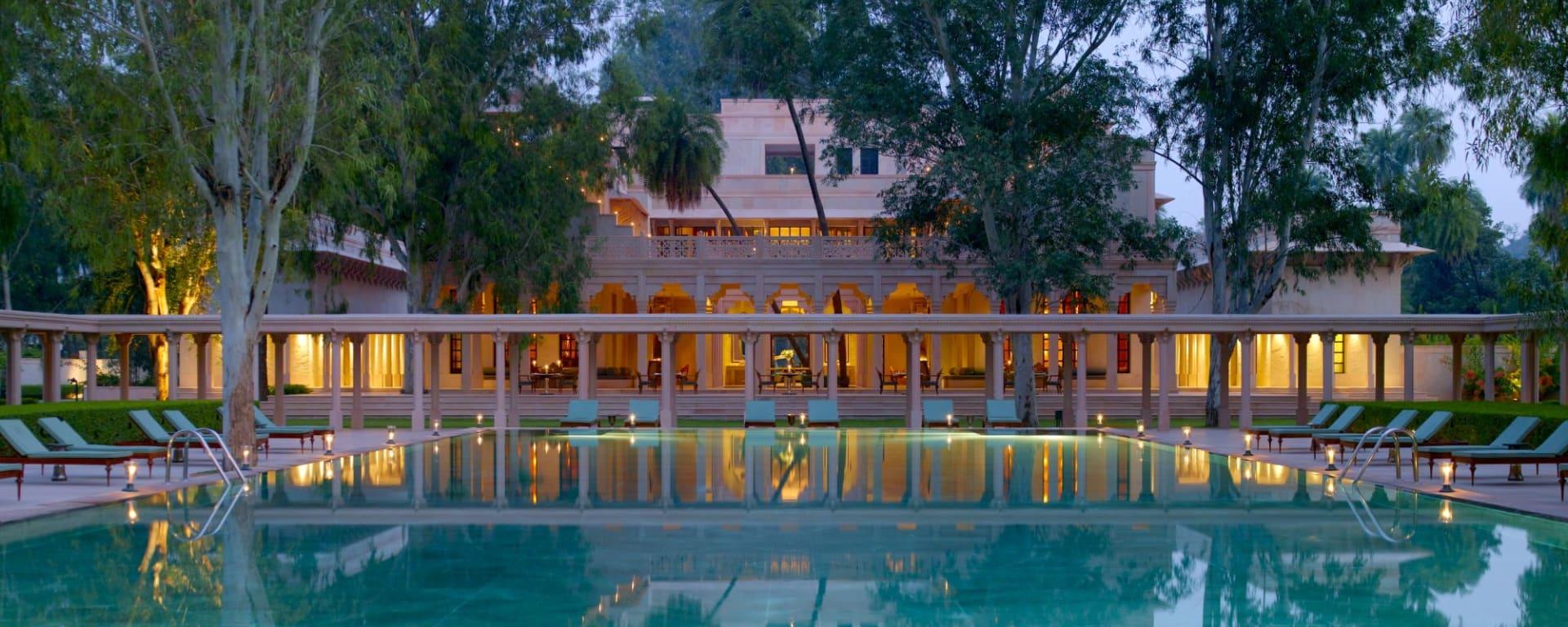 Aman Geniesser-Reise ab Jaipur: pool: