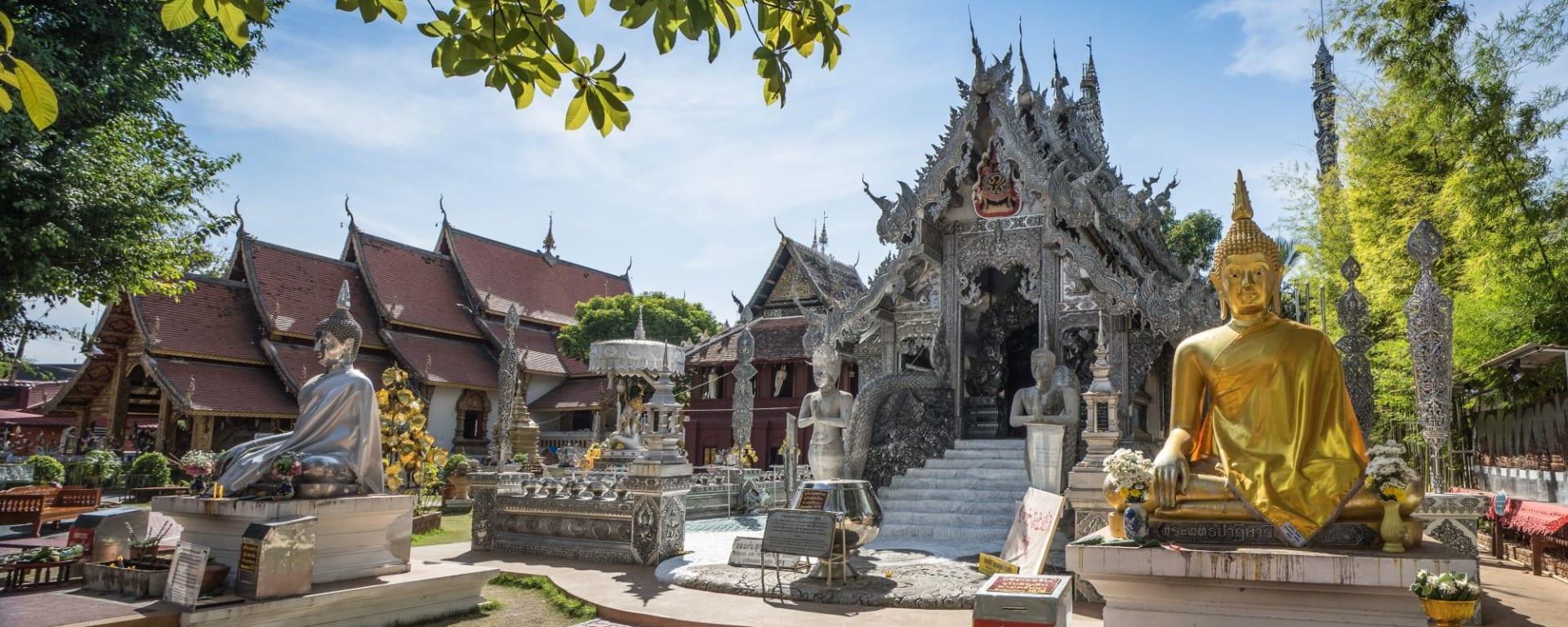 Königliches Siam ab Bangkok: Chiang Mai Silver Temple Wat Sri Suphan