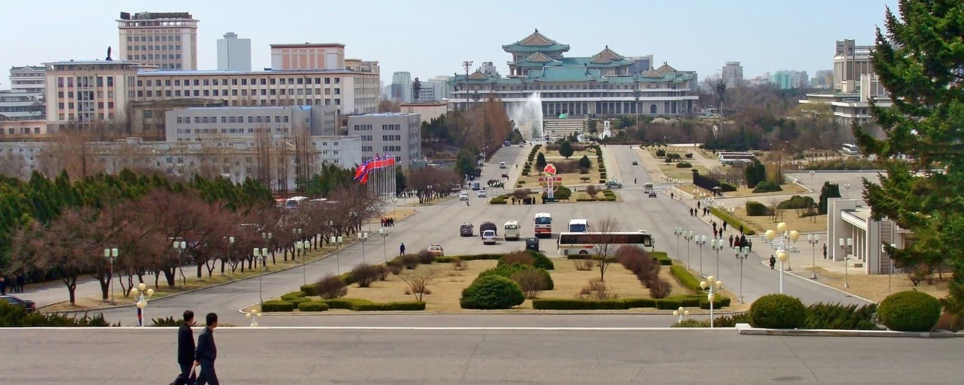 Grand circuit en Corée du Nord de Pyongyang: Pyongyang: City Center