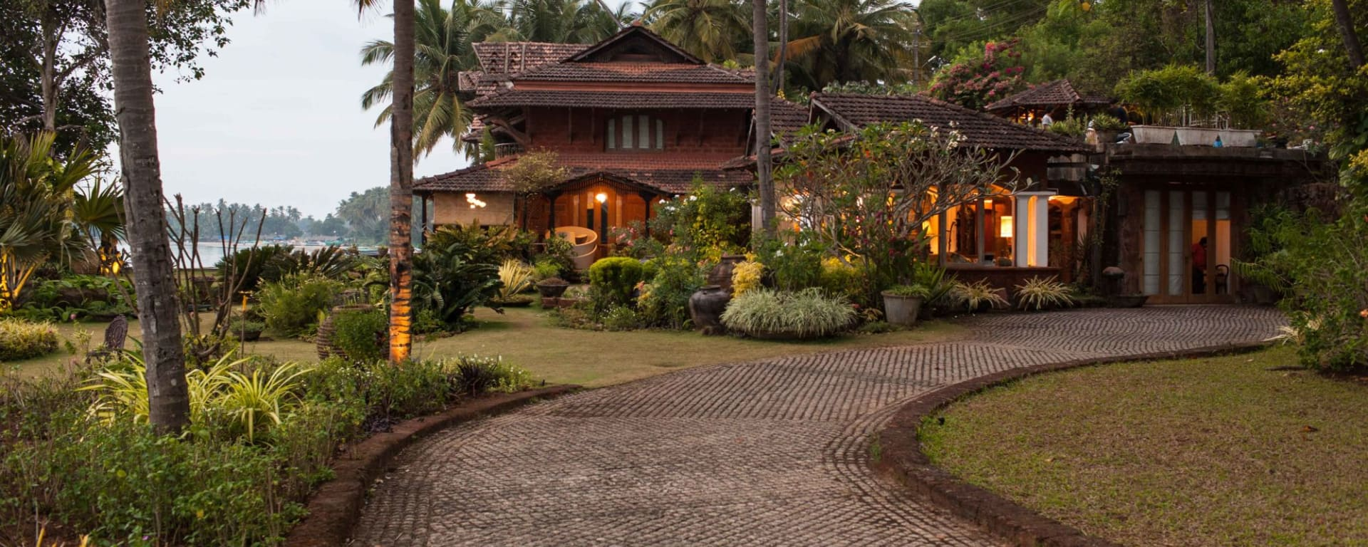 Ahilya by the Sea in Goa: Walkway