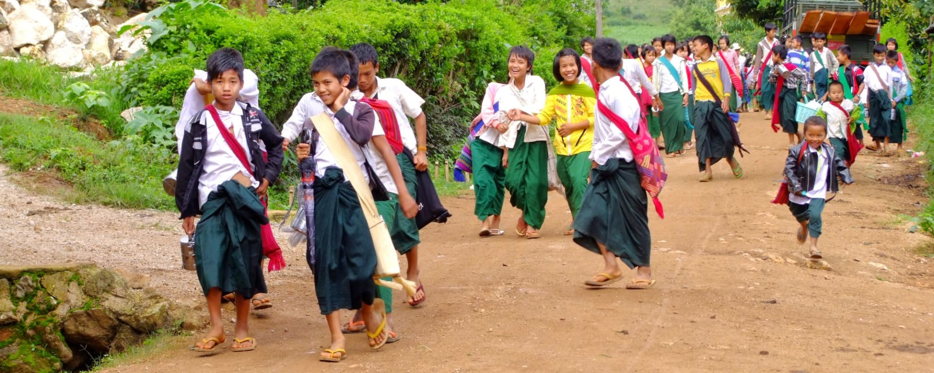 Wandern im malerischen Shan Staat (4 Tage) ab Inle Lake: Schools out
