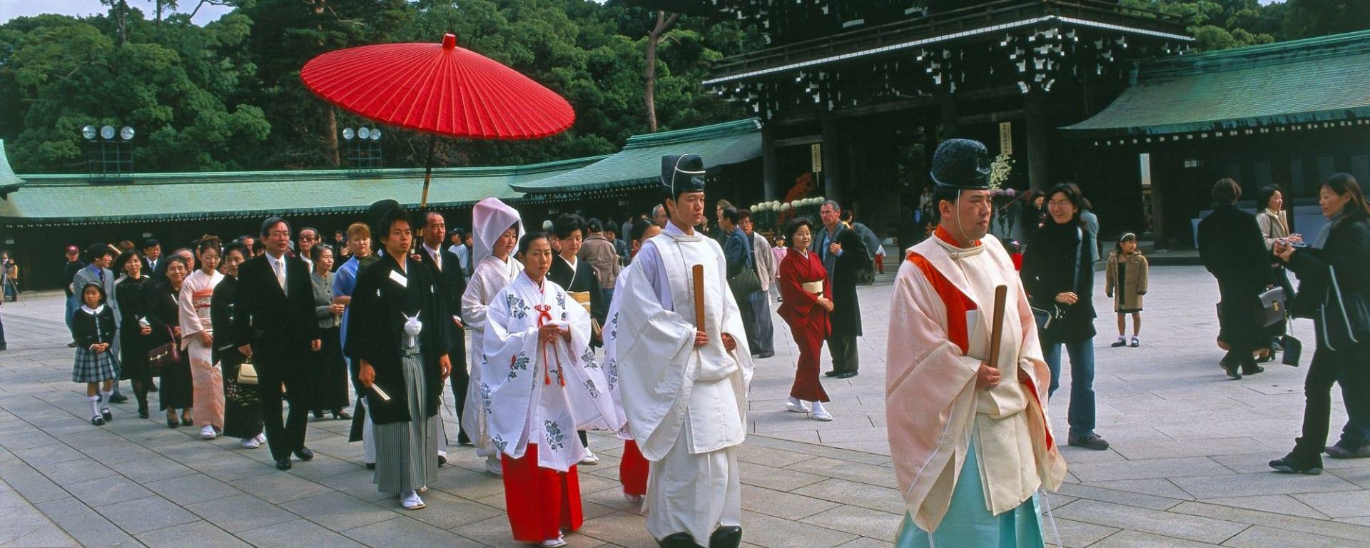 Tour de ville - une journée à Tokyo: Tokyo: Wedding at Meiji Shrine