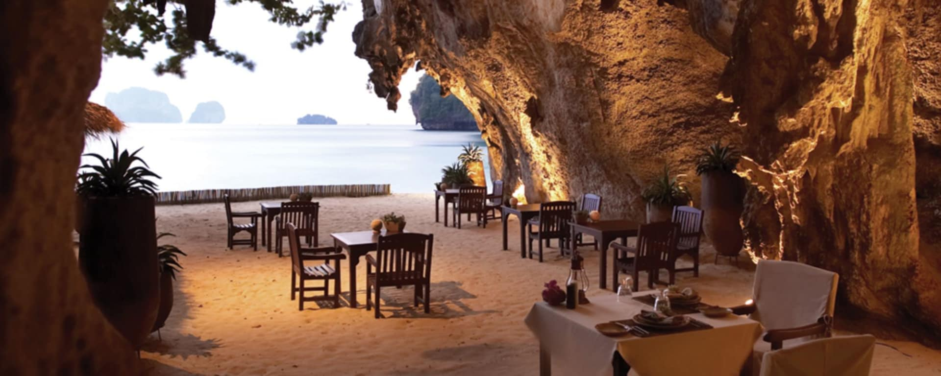 Rayavadee à Krabi: The Grotto (Evening)