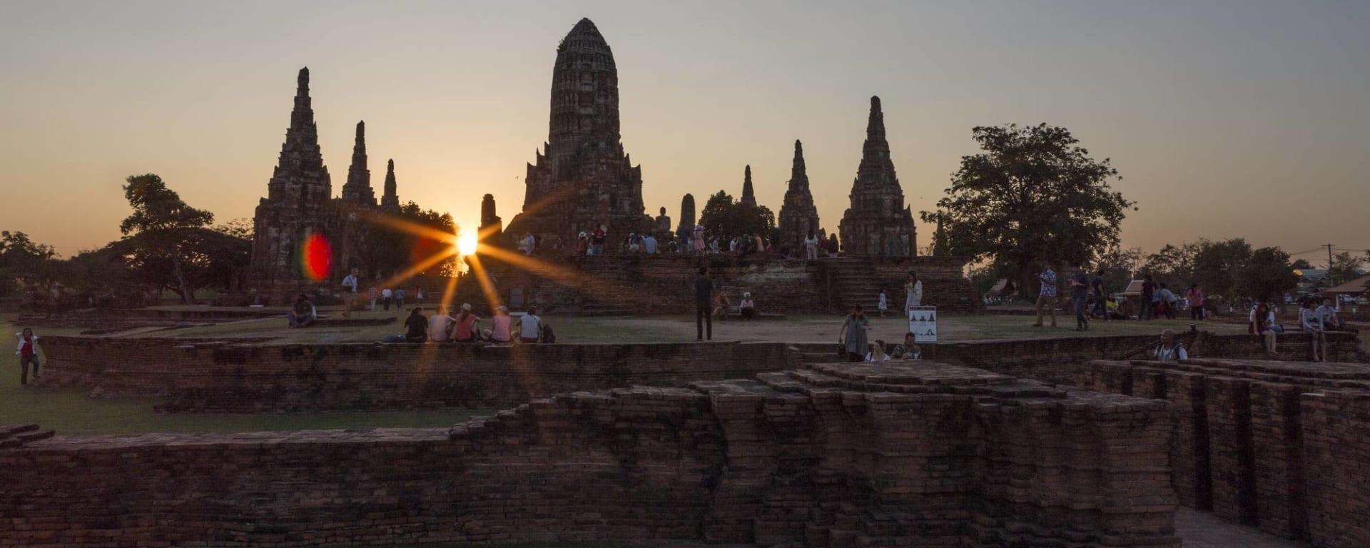 Unbekannter I-San ab Bangkok: Ayutthaya