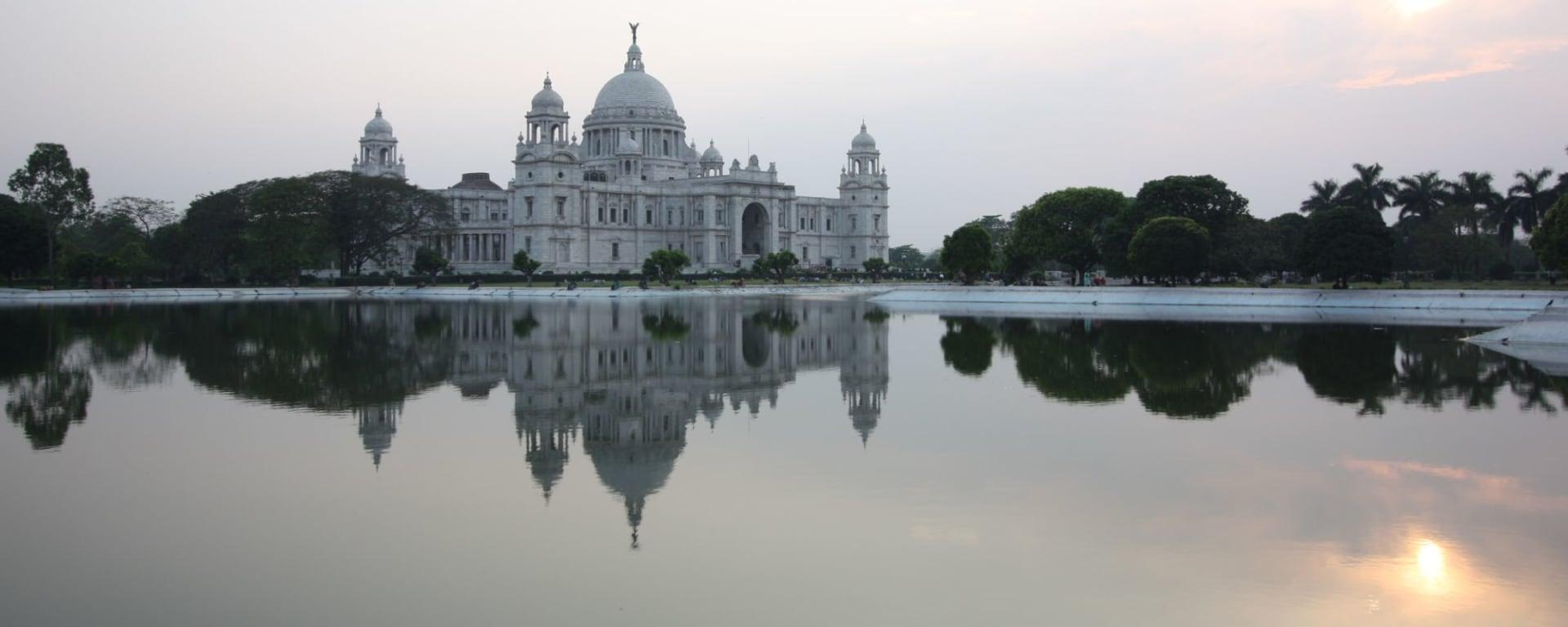 Stadttour Kolkata: Kolkata Victoria Monument reca