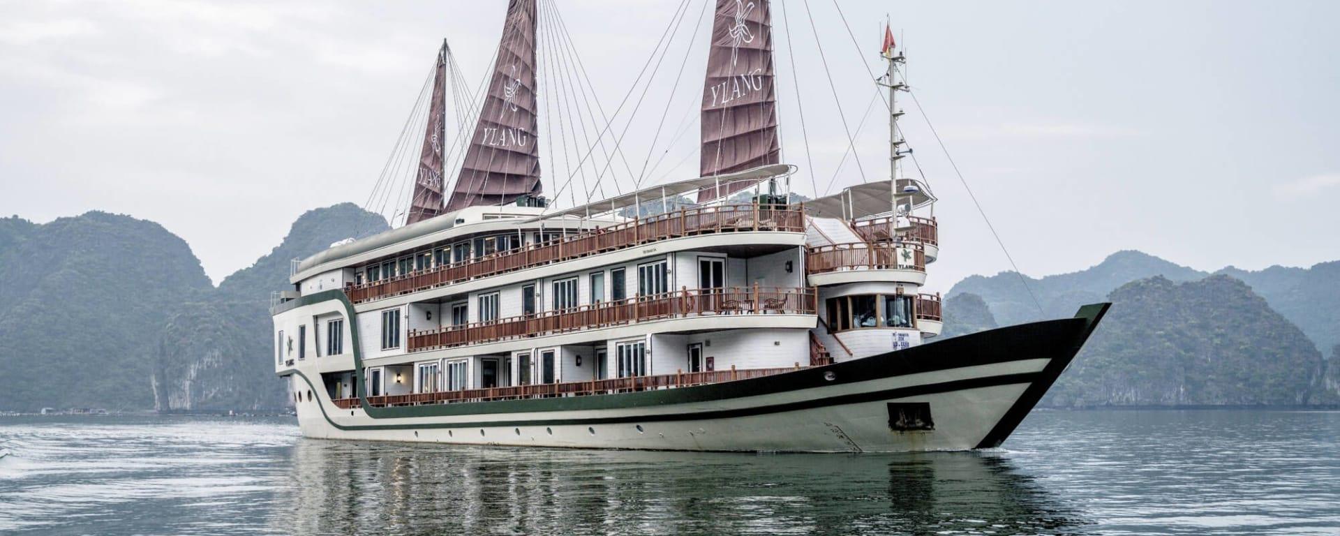 Croisière dans la baie intacte de Lan Ha à bord du