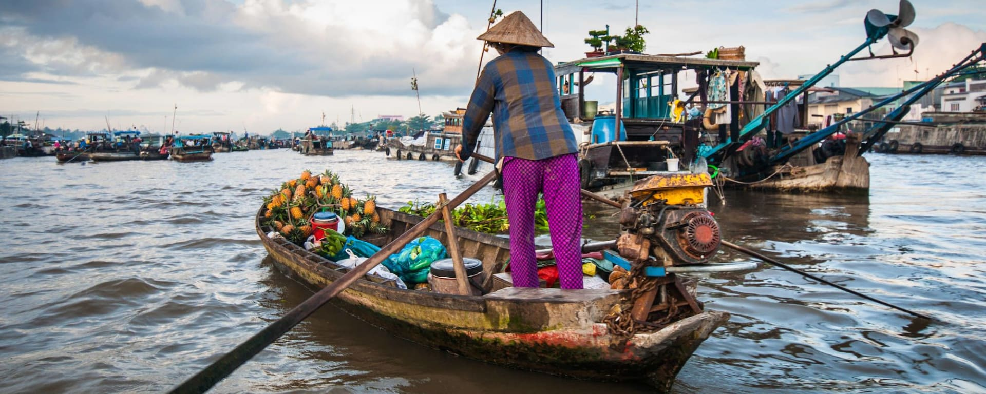 Das Mekong Delta aktiv erleben ab Saigon: Mekong Delta: