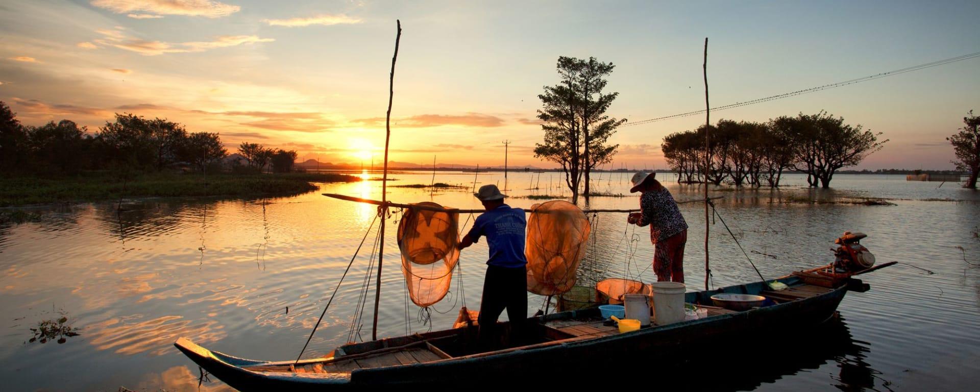 Faszinierendes Mekong Delta - ab/bis Saigon: Mekong Delta, Chau Doc